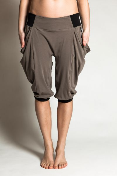 bags pants grey